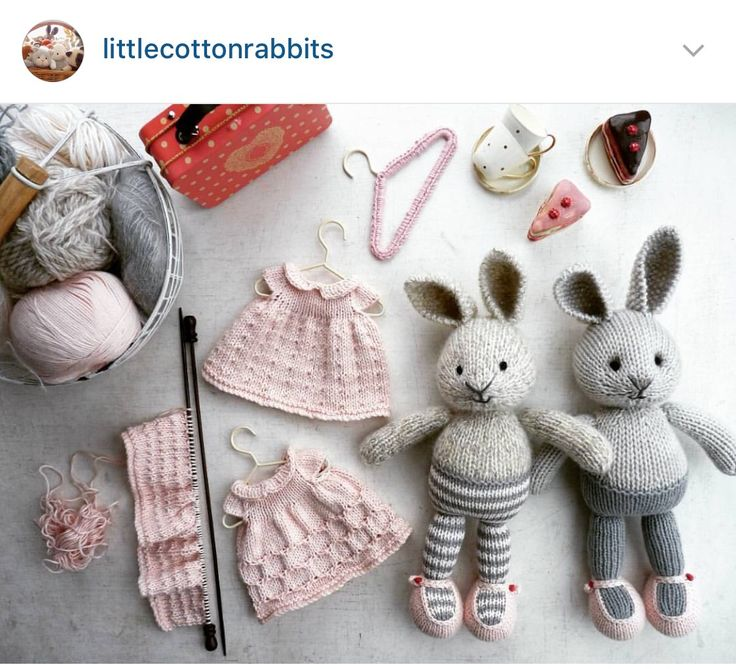 Bunny love by Little Cotton Rabbits