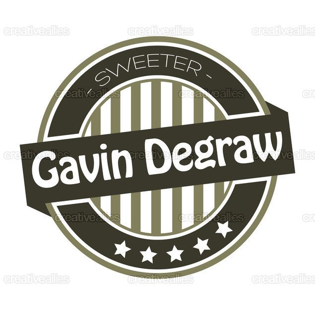 Gavin DeGraw Merchandise Graphic by broluthfi on CreativeAllies.com