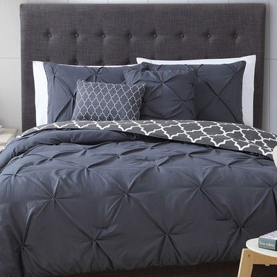 You'll love the Douglas 5 Piece Reversible Comforter Set at Wayfair - Great Deals on all Bed & Bath  products with Free Shipping on most stuff, even the big stuff.