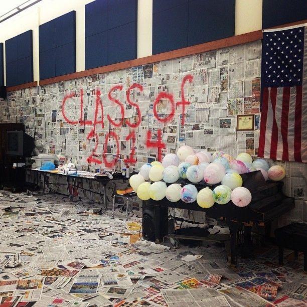 Classroom Prank Ideas ~ The greatest senior pranks ever caught on camera