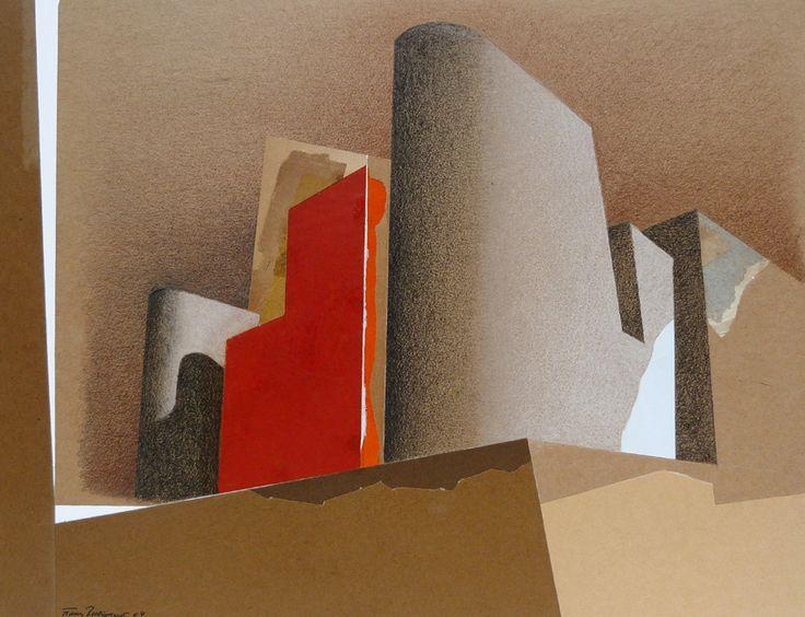 Frank Rheinboldt 2004 Drawing on Collage