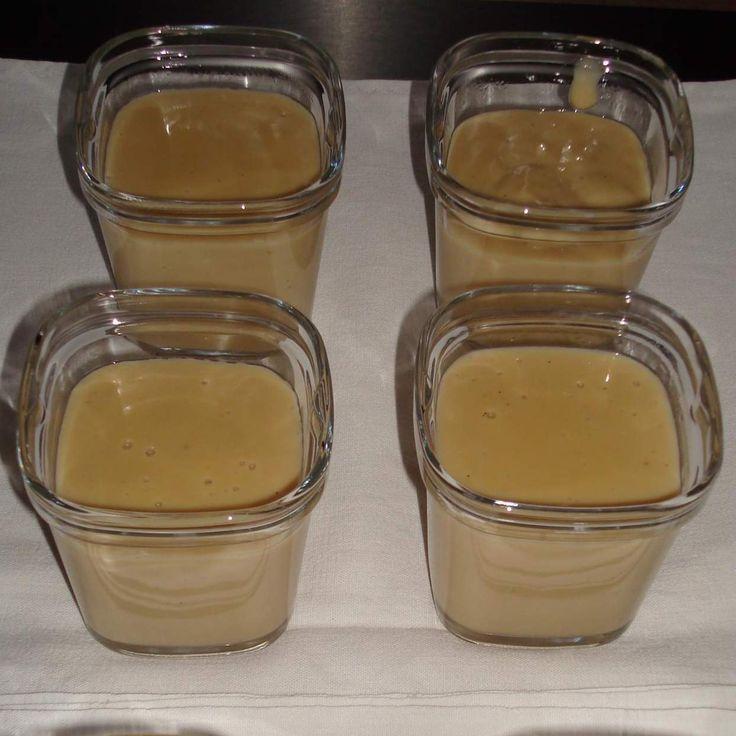 Recette Crème dessert façon danette café par Floflo40 - recette de la catégorie Desserts & Confiseries