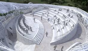 Image result for open air theatre design