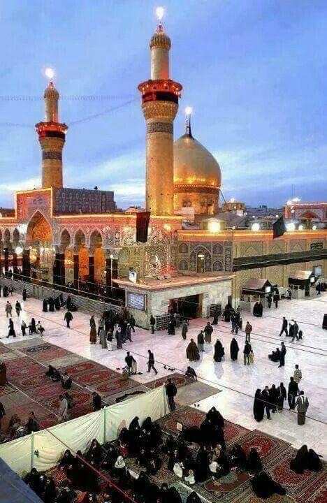 Imam Hussain [Alayhis-Salaam's] blessed Roza Mubarak