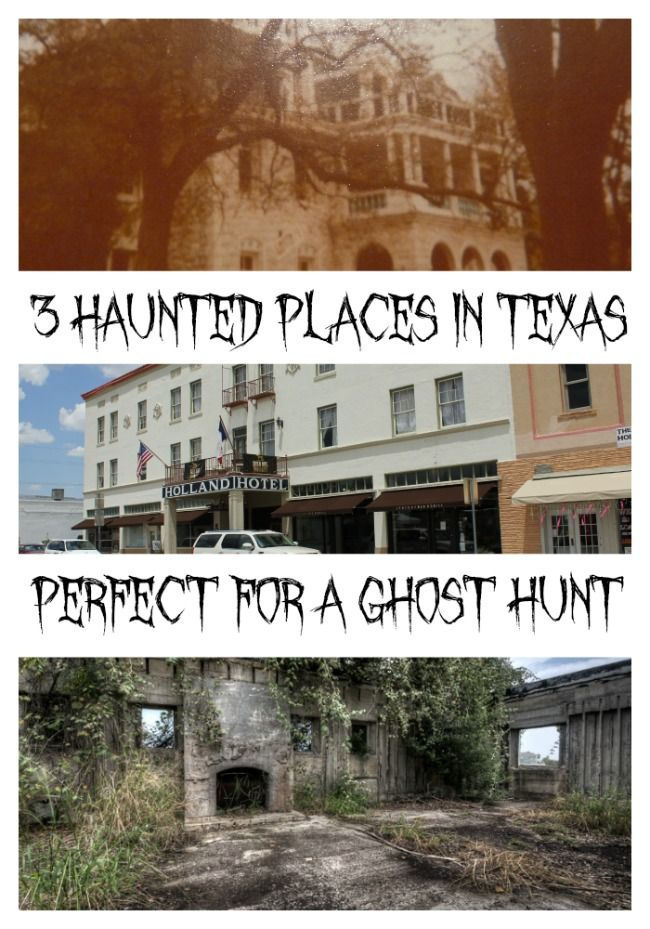 Whose ready for a ghost hunt? With these haunted places in Texas, there is plenty to explore. From tales of murder, the ghost activity is high
