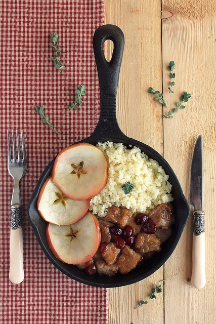 Couscous with Cranberry Pork By anna-mavritta