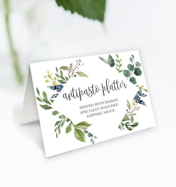 This Item Is Unavailable Wedding Buffet Tent Cards Card Template