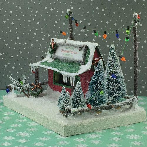 Noel Farms Christmas Tree Lot - http://christmasnotebook.com/2016/12/19/noel-farms-christmas-tree-lot/