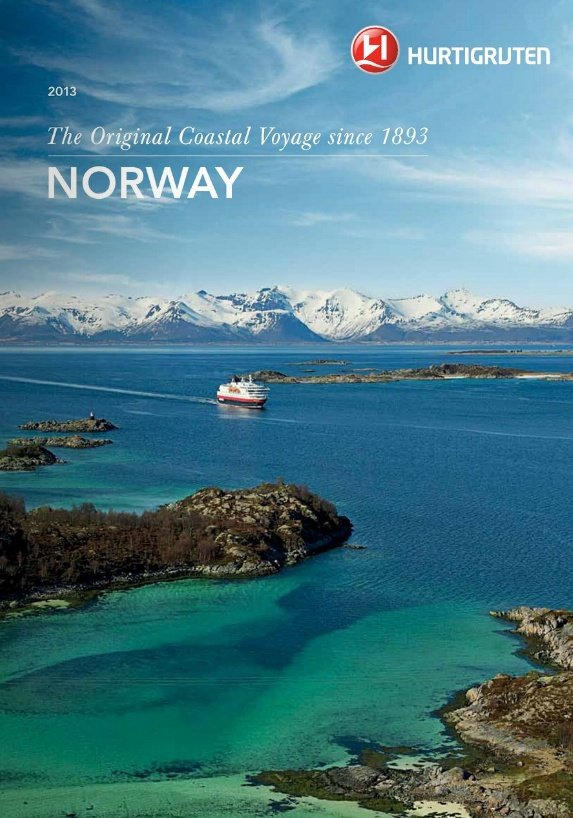 Hurtigruten - Norway 2013 Brochure