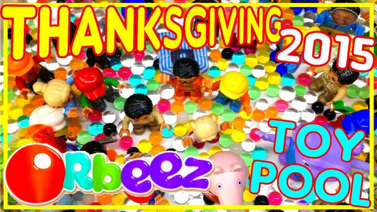 ORBEEZ POOL PARTY  - Giant Orbeez pool with kids toys