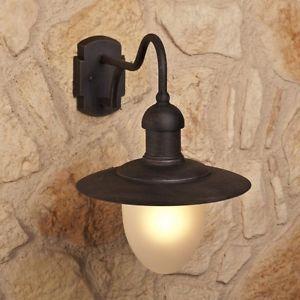 Applique-murale-Lampe-de-jardin-Luminaire-Lampe-exterieure-Couleur-rouille-27773
