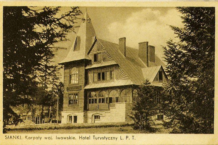 Schronisko PTN Sianki 1936