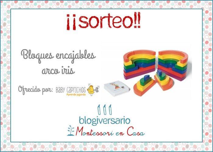 Sorteo Bloques encajables Arco Iris en Montessori en Casa http://www.montessoriencasa.es/sorteo-bloques-encajables-arcoiris/ #montessori #encajablesarcoiris