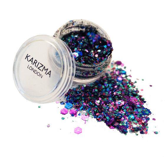 Zeemeermin Chunky Glitter gezicht lichaam nagels haar Festival Gems Beauty Make-up accessoires Holiday Beach de Gift van de verjaardag voor haar