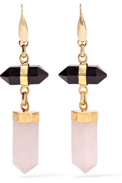 Isabel Marant | Santa gold-tone stone earrings | NET-A-PORTER.COM