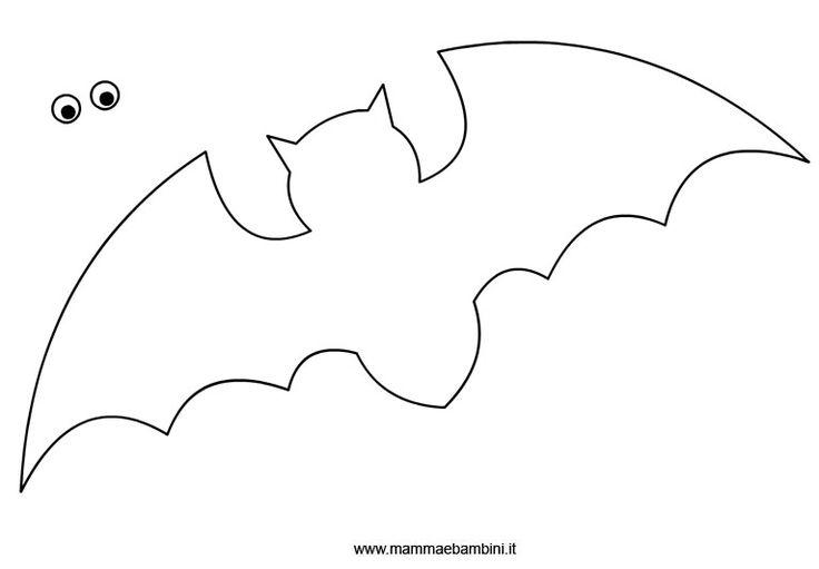 Per la Festa di Halloween vi abbiamo già mostrato vari modi di realizzare un pipistrello con la carta ma se cercate un sistema ancora più rapido, potete stampare questa sagoma. Una volta ritagliata la ripasserete su un cartoncino nero e nel giro di pochi minuti