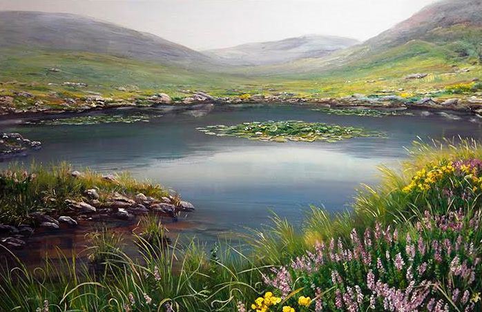 Lily Pond On The Dingle Way