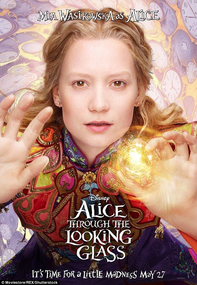 Mia Wasikowska, at 26, might now be a little old to play Alice, but she again does a fine job as the engagingly spirited Victorian heroine