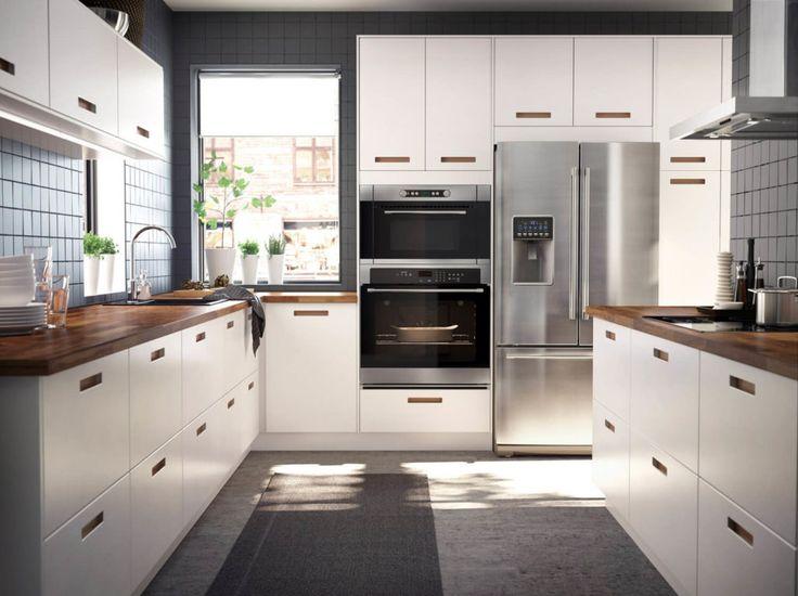 117 besten weisse kuchen kuchen design ganz in weiss bilder for Hochglanzküchen wei
