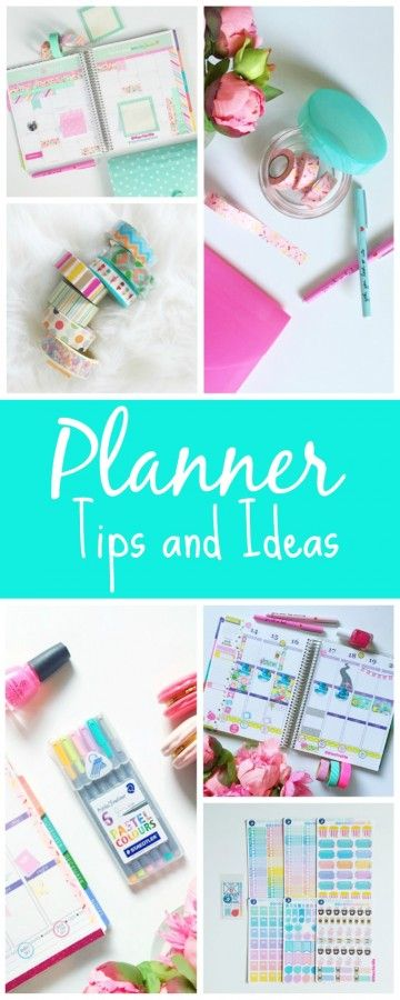 Are you a planner addict, too? Well, clickon the links below for my tips on how to decorate your planner, links to planner decoration ideas, my favorite planner supplies, and more. Decorating my p…
