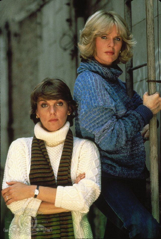 Still of Tyne Daly and Sharon Gless in Cagney & Lacey