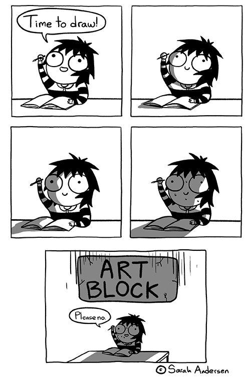 The dreaded art block. #artistproblems
