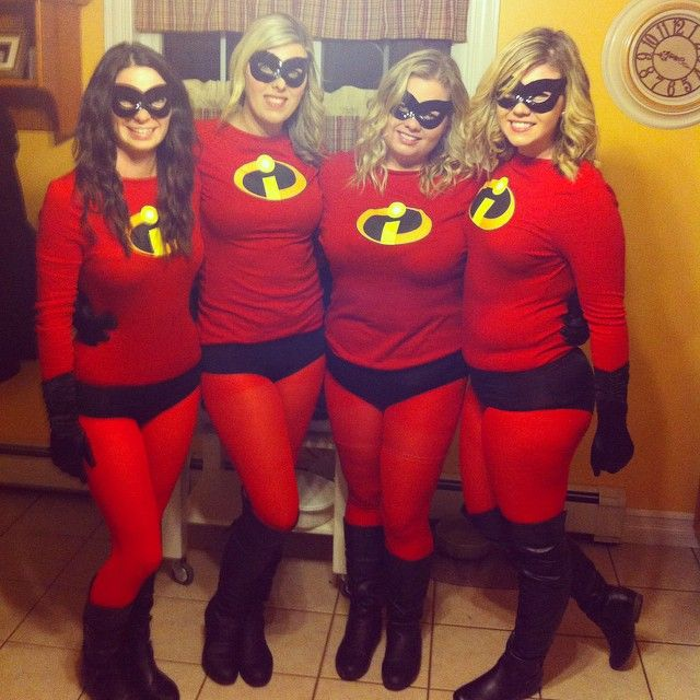 Pin for Later: 43 Disney Costumes You and Your Group Can DIY The Incredibles