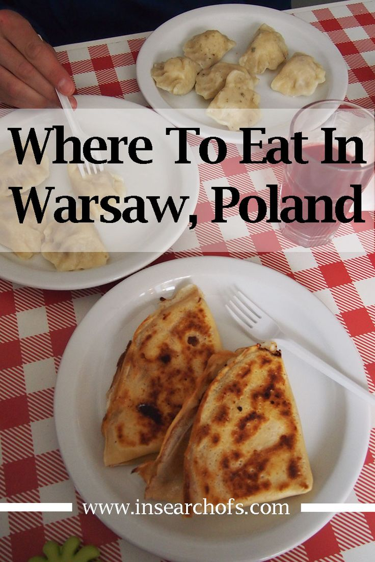 In this post, I'm sharing restaurants and cafes with delicious food in Warsaw, Poland.