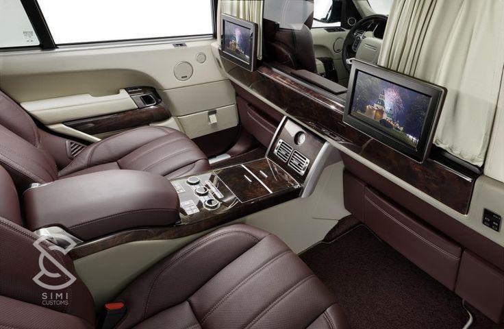 Range Rover Interior Customisation