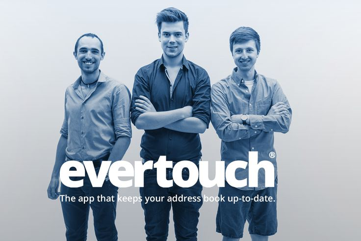 Introducing our young and motivated Team for Marketing and Communications. We want you to be onboard with evertouch! Join us and enjoy the smart adress book that helps you to stay in touch. We have some big plans for the future! Be sure to like our page, share it with your friends and get in touch with us!