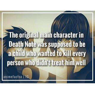 Death Note Hmmm wonder how that would have turned out <<< in book 13: how to read at the end it has part of it. It isn't that great in my opinion.
