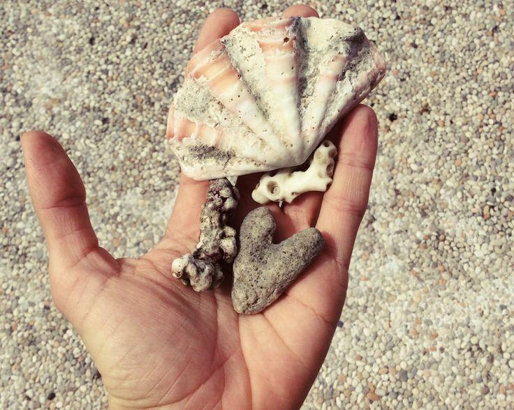 Ocean. Bali. Love. Hand.