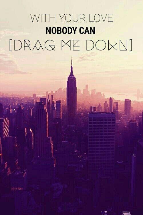 Drag Me Down-One Direction Lyrics ❤