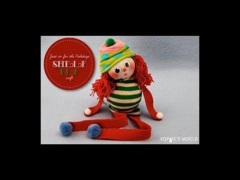 "Sophie's World:  ""Elf on a Shelf"" Sock Doll"