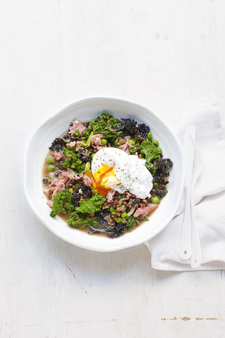 This quick lentil recipe is on the table in just 20 minutes.
