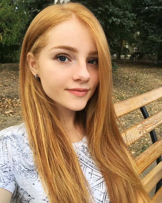 Cute girl redhead opinion