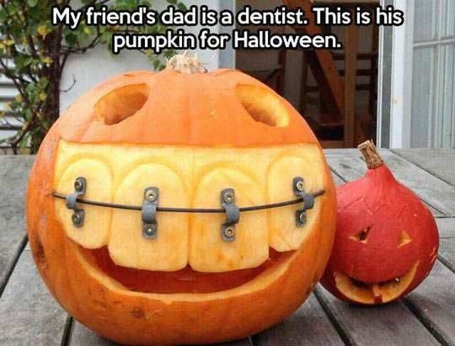 My friend's dad is a dentist...                                                                                                                                                      More