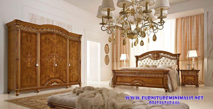 Set Kamar Tidur Pengantin Kayu Jati . Furniture Minimalis Jepara
