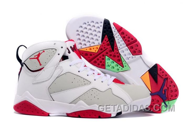 http://www.getadidas.com/air-jordan-retro-7-hare-white-true-red-white-lastest.html AIR JORDAN RETRO 7 HARE WHITE TRUE RED WHITE LASTEST Only $69.00 , Free Shipping!