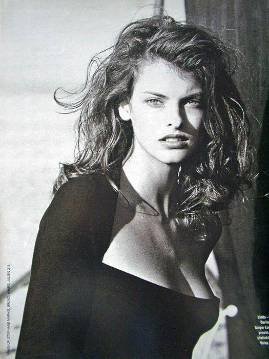 Linda Evangelista - 1988 by Peter Lindbergh