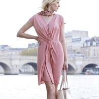 Gedrapeerde jurk SINEQUANONE