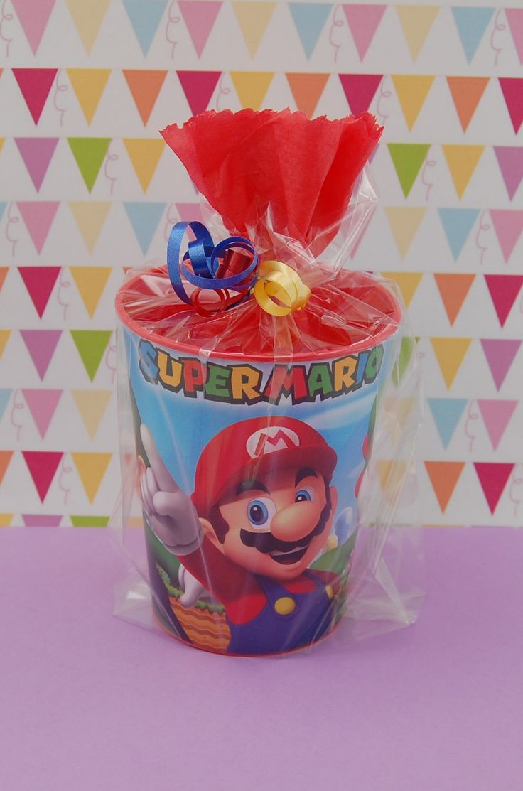 Party Favors for Kids-Super Mario Themed Favors- Pre-Filled Party Favors-Goodie Bags
