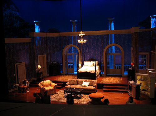 17 Best Images About Cat On A Hot Tin Roof Set Design On
