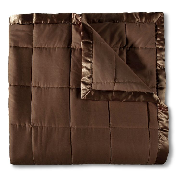 Elite Home Down Alt Microfiber Blanket - Chocolate (Brown) (Full/Queen)