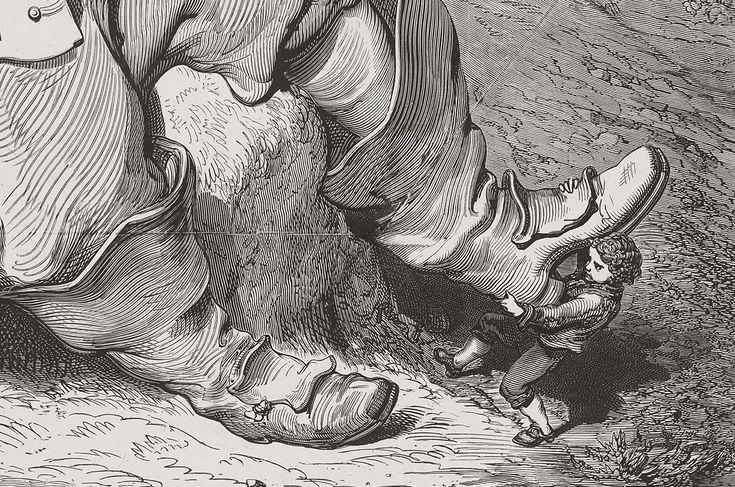 """Gustave Doré, Les Contes de Perrault """"Le Petit Poucet"""" - BNF"""