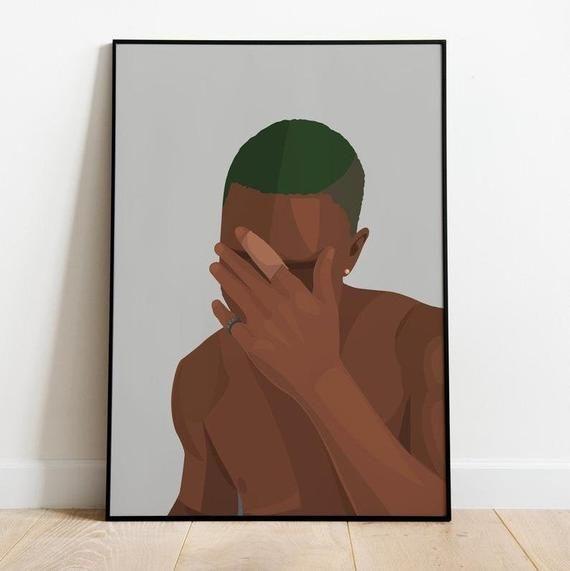 frank ocean poster blonde blond album