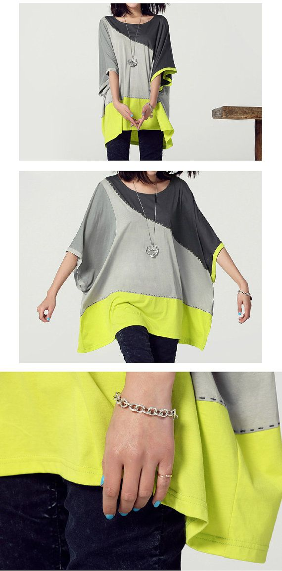 Hey, I found this really awesome Etsy listing at https://www.etsy.com/listing/173534499/s-10xl-4-parts-contrast-soft-t-shirt