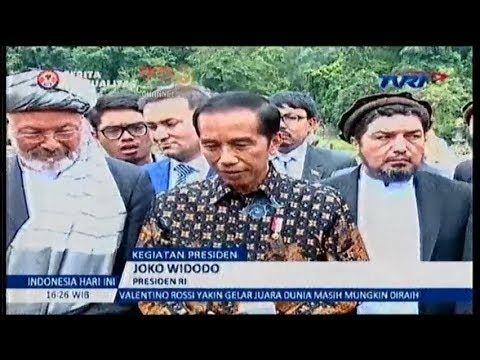 P. JOKOWI : Afghanistan Kagum  dg Persatuan  & Kebhinekaan Indonesia
