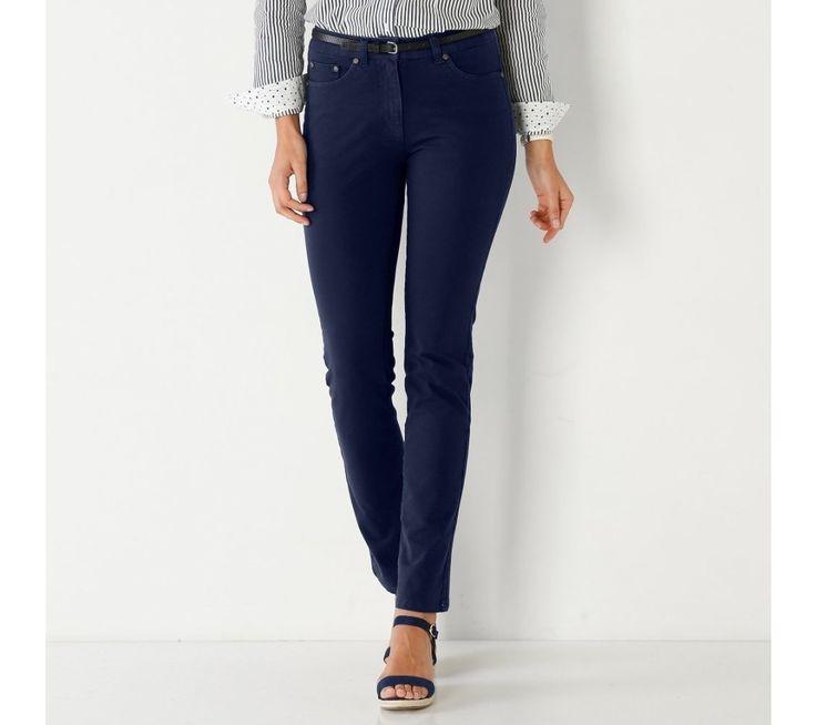 Rovné bistrečové kalhoty | blancheporte.cz #blancheporte #blancheporteSK #blancheporte_sk #novakolekce #jaro #leto