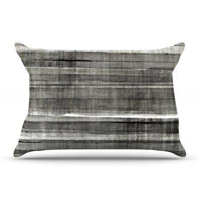 East Urban Home CarolLynn Tice 'Accent' Dark Neutral Pillow Case